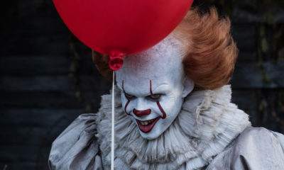 pennywisestephenkingsitbanner 400x240 - Stephen King Has Already Seen IT: CHAPTER TWO! Here's What He Thinks