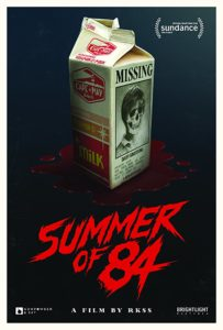 summerof84poster 203x300 - Summer of '84 Review (Sundance) - You'll Leave This Film Shaken
