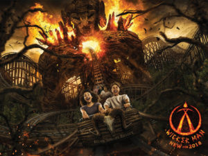 wickermanrollercoasterfull 300x225 - UK Theme Park Getting The Wicker Man-Themed Roller Coaster