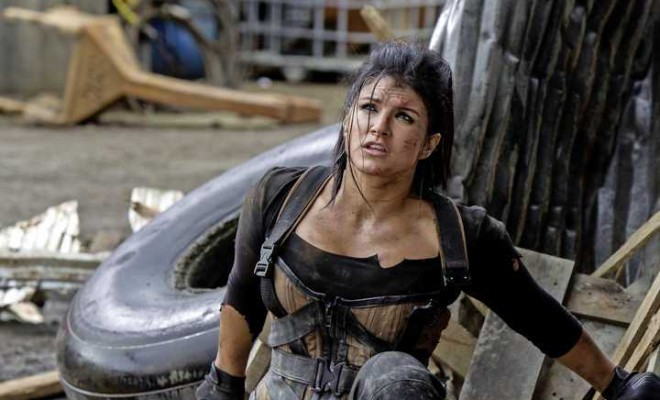 Angel Dust Gina Carano - Interview: Gina Carano Walks Us Along The Scorched Earth