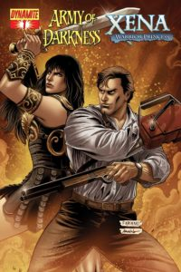 Army of Darkness Xena Warrior Princess 200x300 - Ash vs. Everyone: Eight of the Most Exciting Evil Dead/Army of Darkness Crossover Comics