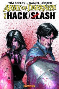 Army of Darkness vs Hack Slash 200x300 - Ash vs. Everyone: Eight of the Most Exciting Evil Dead/Army of Darkness Crossover Comics