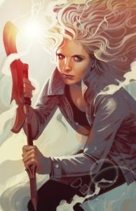 Buffy1 194x300 - Buffy Is Back in New Buffy the Vampire Slayer Comic Miniseries by Joss Whedon