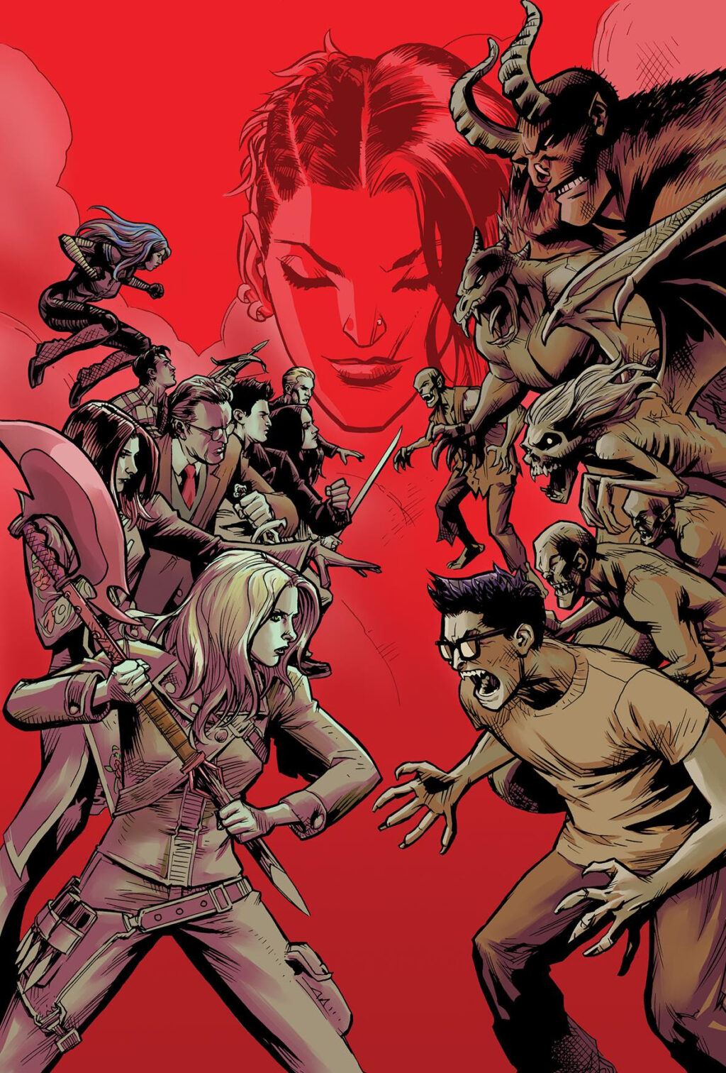 Buffy2 1024x1512 - Buffy Is Back in New Buffy the Vampire Slayer Comic Miniseries by Joss Whedon