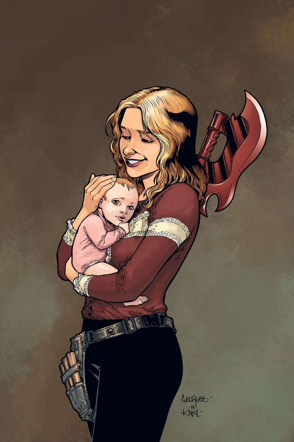 Buffy3 1024x1539 - Buffy Is Back in New Buffy the Vampire Slayer Comic Miniseries by Joss Whedon