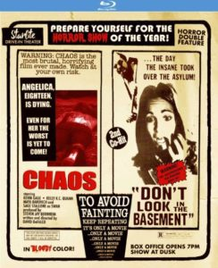 Chaos Dont Look in the Basement 1 244x300 - DVD and Blu-ray Releases: February 13, 2018