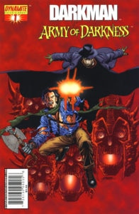 Darkman vs Army of Darkness 196x300 - Ash vs. Everyone: Eight of the Most Exciting Evil Dead/Army of Darkness Crossover Comics