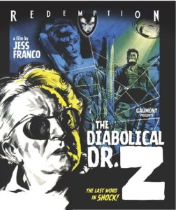 Diabolical Dr. Z The 1966 252x300 - DVD and Blu-ray Releases: February 6, 2018