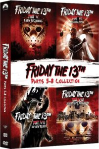 Friday The 13th Four Pack V VIII 200x300 - DVD and Blu-ray Releases: February 6, 2018