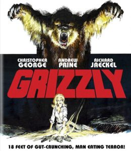 Grizzly 1976 260x300 - DVD and Blu-ray Releases: February 6, 2018