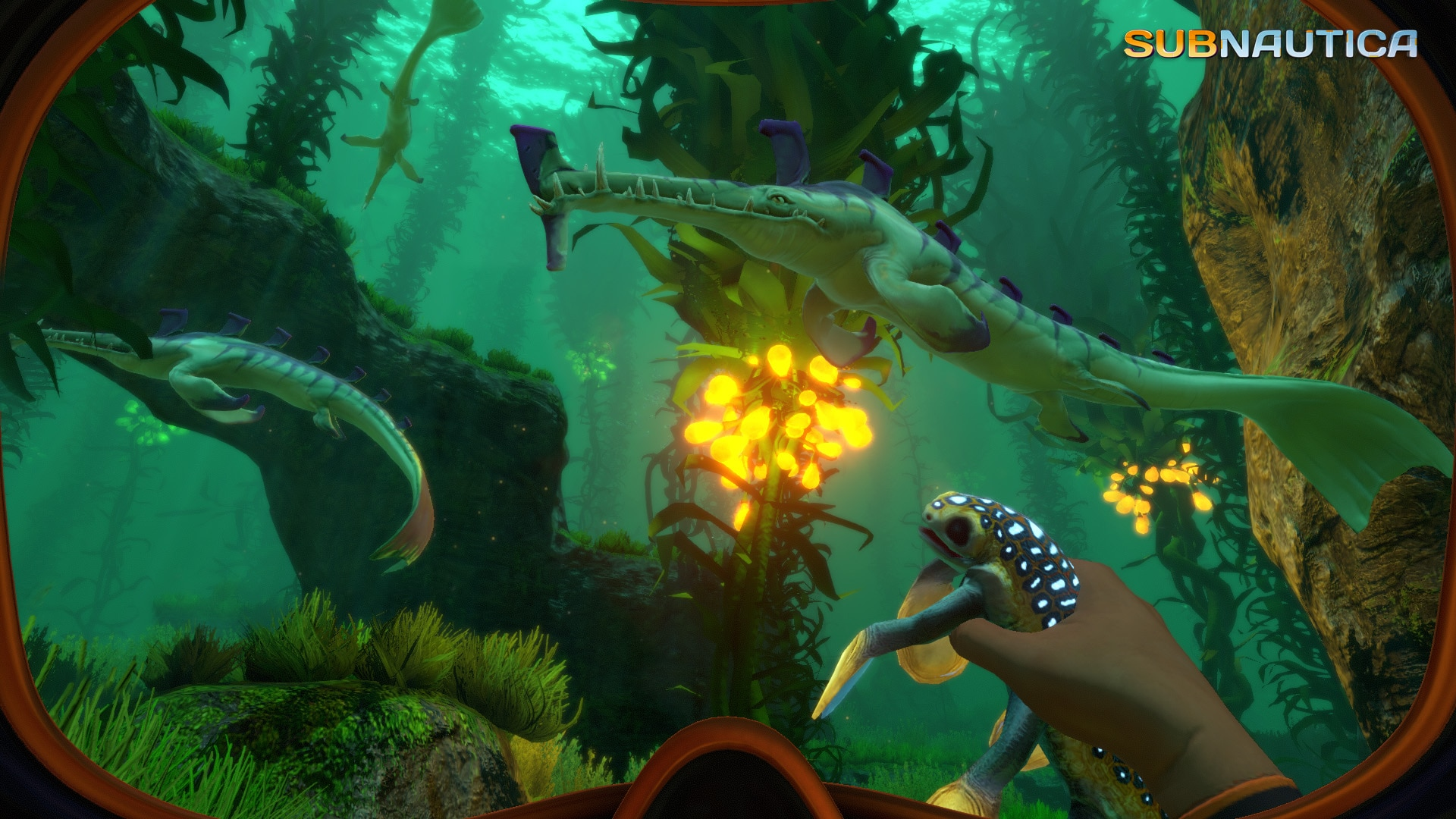 Subnautica Review - Bright Lights, Big Fishy - Dread Central