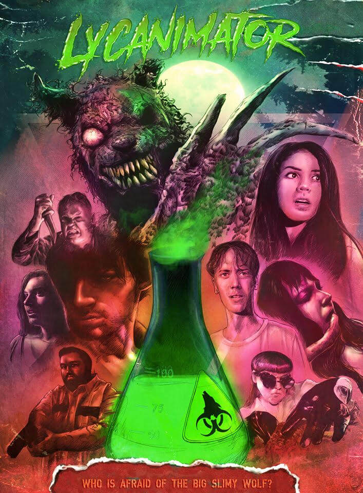 Lycanimator poster 1 - Lycanimator Poster Turns the Crazy to Eleven