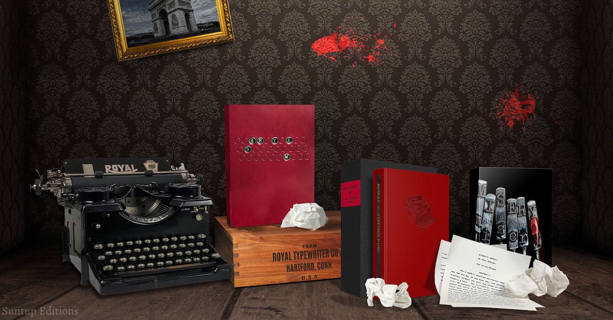 MiseryAllEditionsbanner - Gorgeous Highly Limited Edition Signed Copies of Stephen King's Misery Coming This Summer