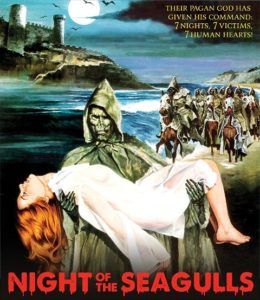 Night Of The Seagulls 1975 260x300 - DVD and Blu-ray Releases: February 13, 2018