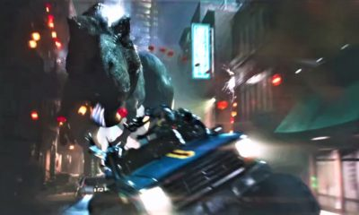 ReadyTrexOne 400x240 - Jurassic Park T-Rex Stomps Through Ready Player One Trailer #3