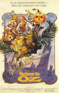 Return to Oz 1985 Poster 191x300 - 10 Terrifying Moments from Kids' Movies That Haunted Our Childhoods