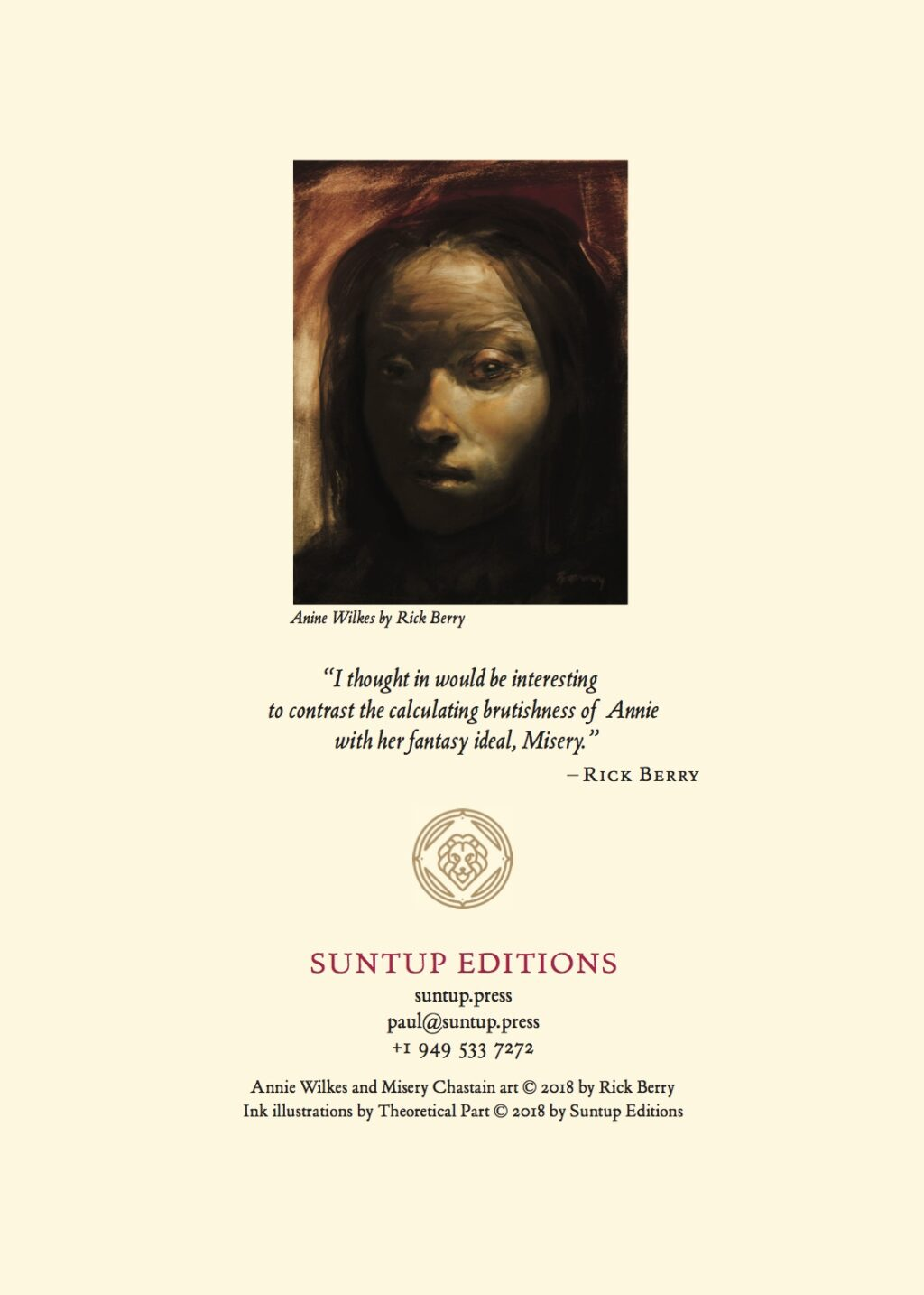 Suntup Misery Prospectus6 1024x1434 - Gorgeous Highly Limited Edition Signed Copies of Stephen King's Misery Coming This Summer