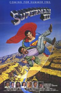 Superman III 1983 Poster 196x300 - 10 Terrifying Moments from Kids' Movies That Haunted Our Childhoods