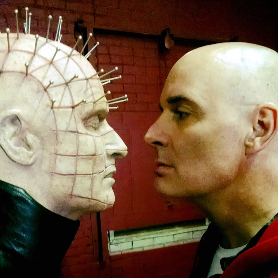 TaylorPinhead - Interview: Paul T. Taylor Talks Playing Pinhead in Hellraiser: Judgment