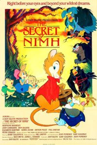 The Secret of NIMH 1982 Poster 200x300 - 10 Terrifying Moments from Kids' Movies That Haunted Our Childhoods