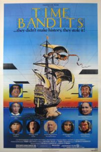 Time Bandits 1981 Poster 201x300 - 10 Terrifying Moments from Kids' Movies That Haunted Our Childhoods