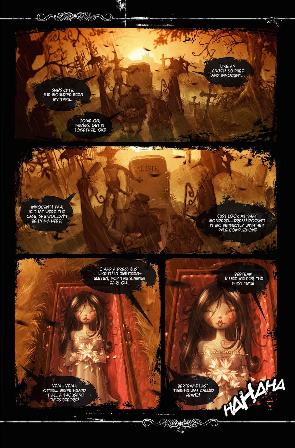 alisiki1preview 0 - Alisik Issue #1 Review - A Charmingly Beautiful Foray Into the Afterlife