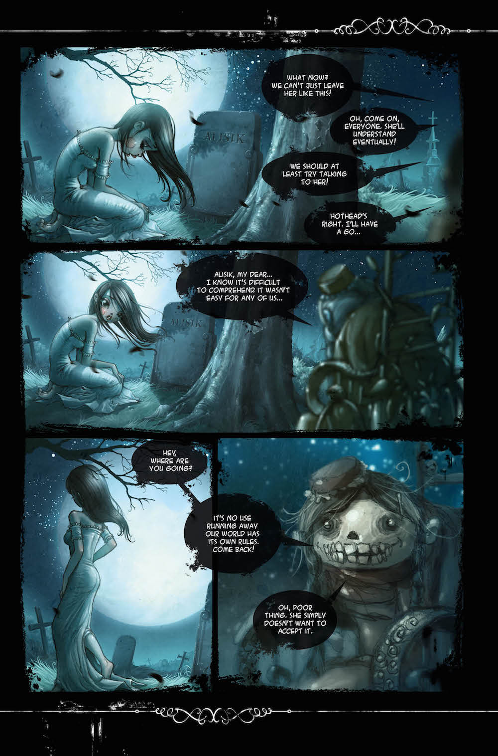 alisiki1preview 1 - Alisik Issue #1 Review - A Charmingly Beautiful Foray Into the Afterlife
