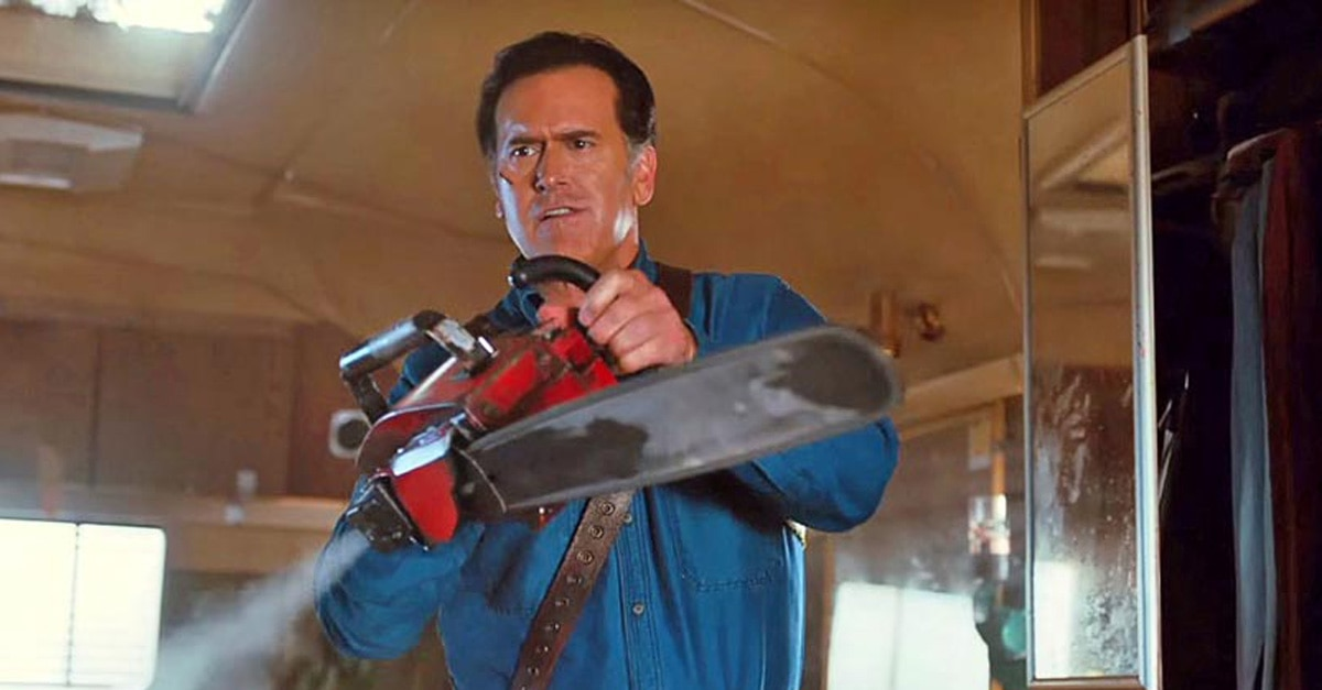 ash vs evil dead - Ash vs Evil Dead Has Been Cancelled; Bruce Campbell Tweets Emotional Message