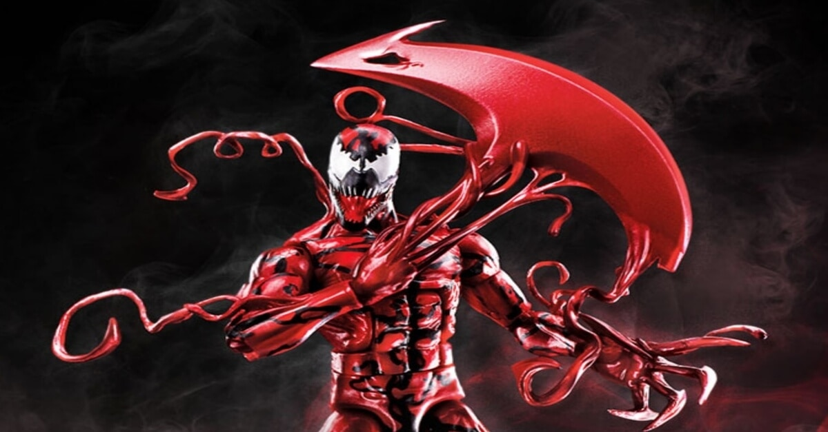 carange hasbro figure 1 - Hasbro Reveals a Bunch of New Venom and Carnage Action Figures