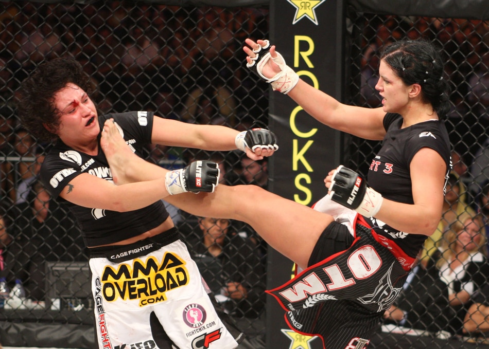 gina1 - Interview: Gina Carano Walks Us Along The Scorched Earth