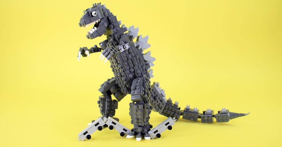 Want A Lego Godzilla Set Here S Your Chance Dread Central