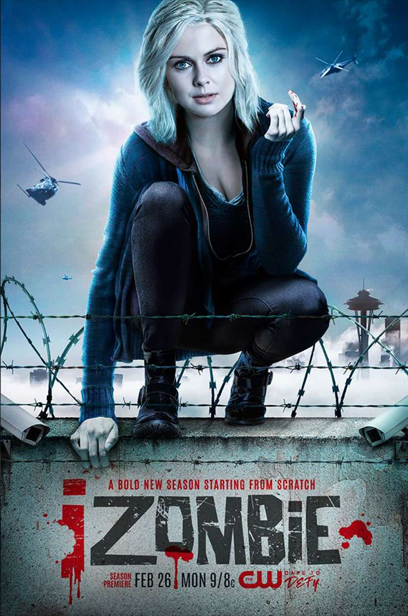 izombie s4 keyart - Are You Ready for Some Zombies? Check Out the iZombie Season 4 Artwork and Premiere Synopsis!