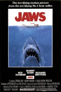 jaws 199x300 - DC Horror Oscars Part II: Horror Movies That Were Nominated And/Or Won Academy Awards