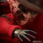 mezco freddy7 1 150x150 - Mezco's Talking Freddy Krueger and Deluxe Stylized Jason Voorhees Figures Available to Pre-Order