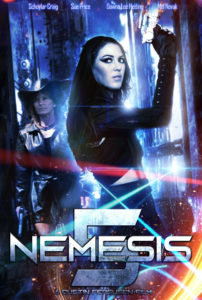 nemeis 5 poster 1 202x300 - Nemesis 5 Gets A Neon-Infused Poster