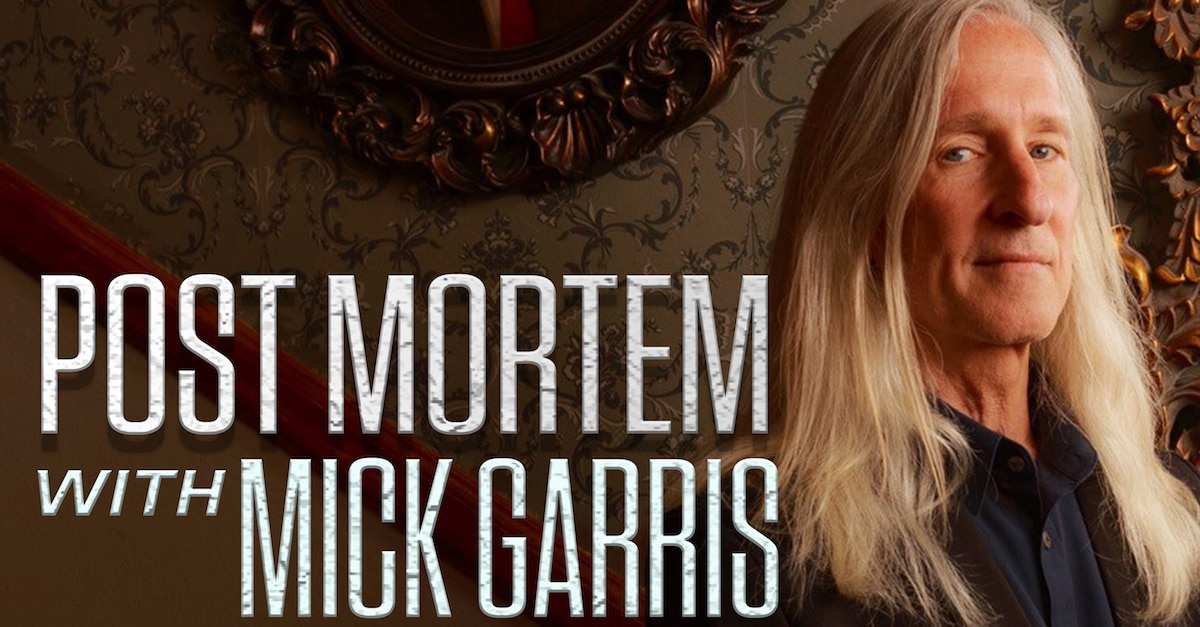 postmortemmickgarrisbanner - Interview: Mick Garris on the Most Surprising Things He's Learned Through His Post Mortem Podcast