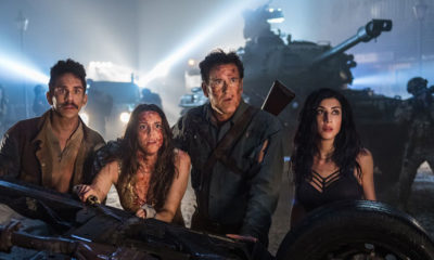 s Ash vs Evil Dead Bruce Campbell Ray Santiago Arielle Carver ONeill Dana DeLorenzo Season 3 Courtesy of Lionsgate 1 400x240 - Lindsay Farris and Dana Delorenzo Talk Ash vs Evil Dead Season 3