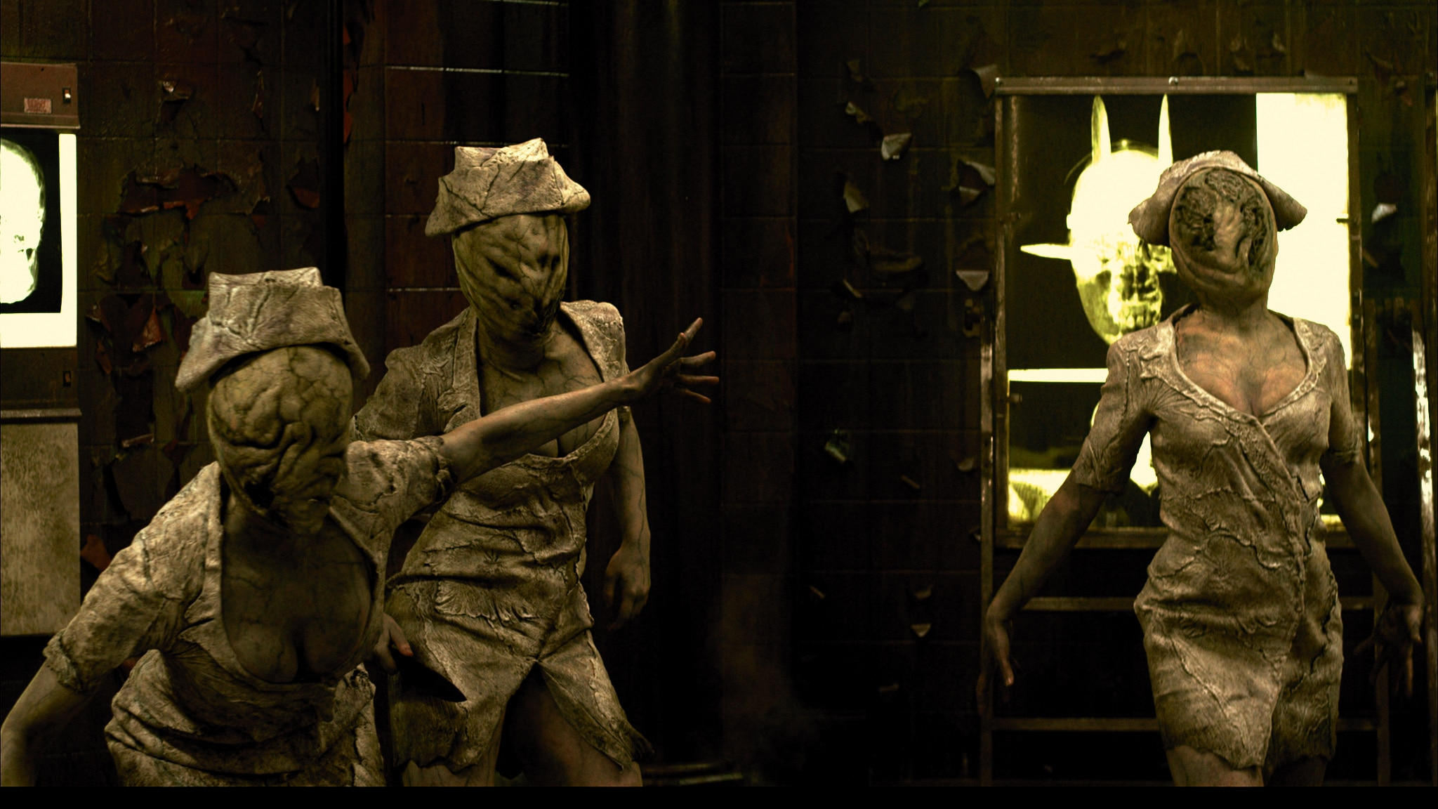 "silenthillrevelationnurses - Silent Hill: Revelation Director Opens Up On Movie's Failings; ""It Was a Nightmare Dance"""