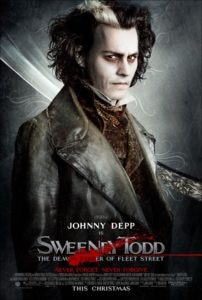 sweeney todd 202x300 - DC Horror Oscars Part II: Horror Movies That Were Nominated And/Or Won Academy Awards