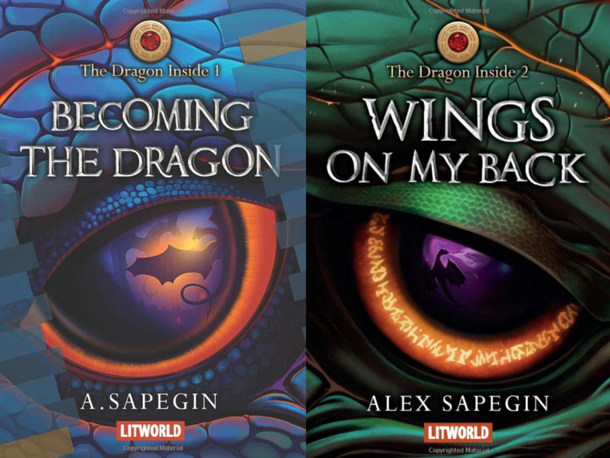 the dragon inside books12 - Russian Fantasy Series The Dragon Inside Now Available to English-Language Readers