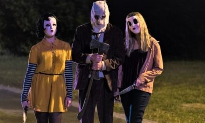 the strangers prey at night 400x240 - Pin-Up Girl, Dollface, and The Man In The Mask Prep for the Kill in New The Strangers: Prey at Night Promos