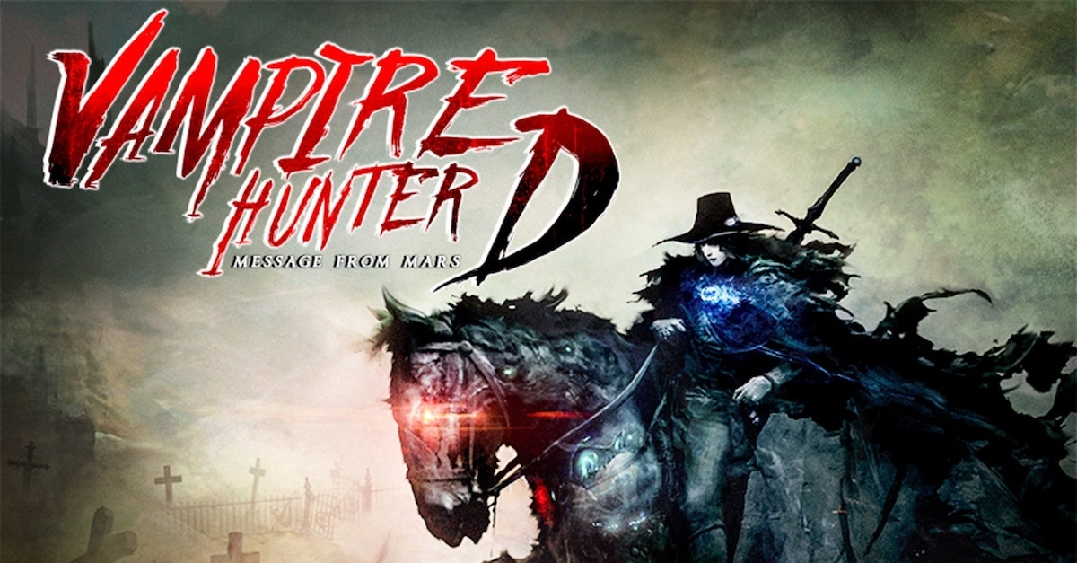vampirehunterdmessagefrommarsbanner1200x627 - Vampire Hunter D: The Series Gets Writer For Pilot Episode
