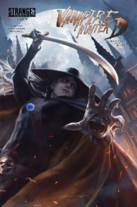 vampirehunterdmessagefrommarsissue1 198x300 - Vampire Hunter D: The Series Gets Writer For Pilot Episode