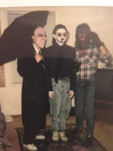 14 year old Byron as a zombie on halloween 225x300 - Recollections of a Teenage Monster: HEAVY METAL ZOMBIES