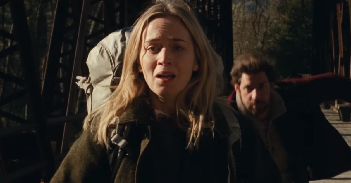 New Clip Arrives From This Week's Opener 'A Quiet Place'