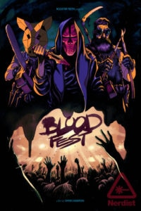 Bloodfest Teaser Poster 200x300 - Rooster Teeth's Horror-Comedy Blood Fest Debuts Trailer and Poster Ahead of Tonight's SXSW World Premiere