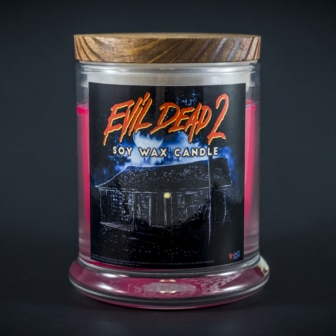 CANDLE 1 store 700x 336x336 - New Evil Dead 2 Shirts, Turntable Slipmats, and Candle Via Cavity Colors