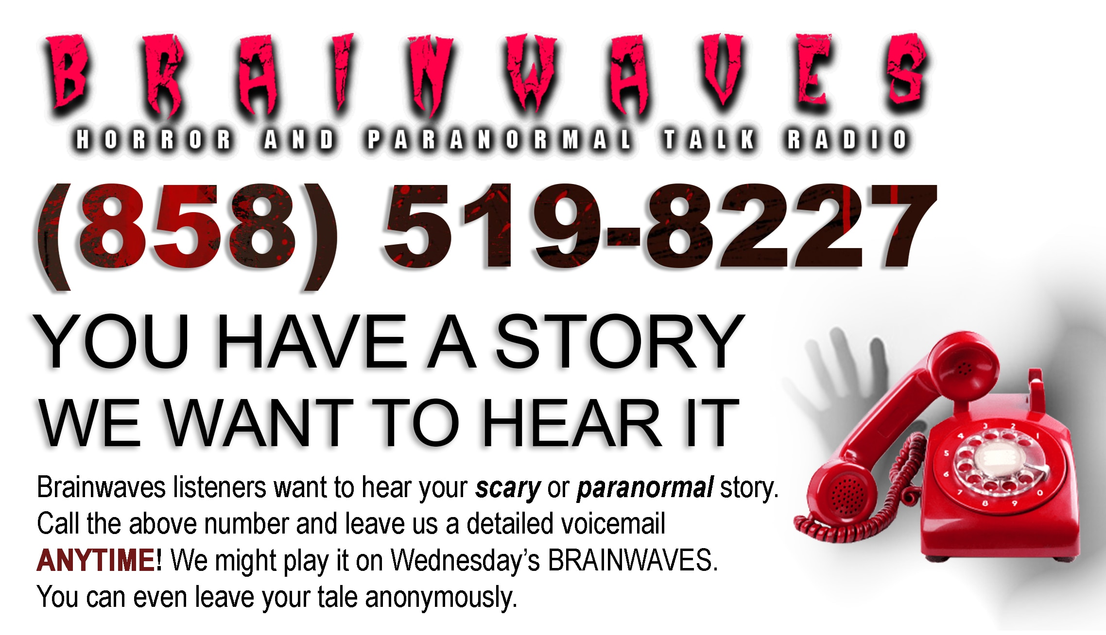 CallBrainwaves v02 - TONIGHT! #Brainwaves Episode 90: Live Listener Investigation: The Haunting of Hazel Marie