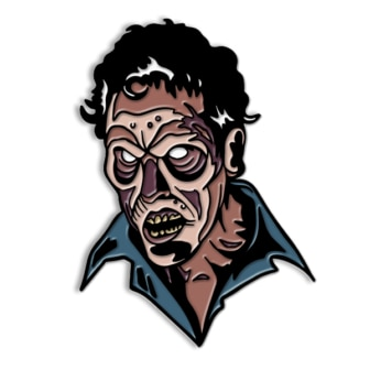 EVIL ASH 700x 336x336 - New Evil Dead 2 Shirts, Turntable Slipmats, and Candle Via Cavity Colors