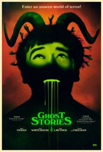 Ghost Stories Poster 1 203x300 - Exclusive: GHOST STORIES Clip Just Wants to Have a Nice, Not-Creepy-At-All Chat